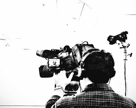 Tournage d'un film institutionnel