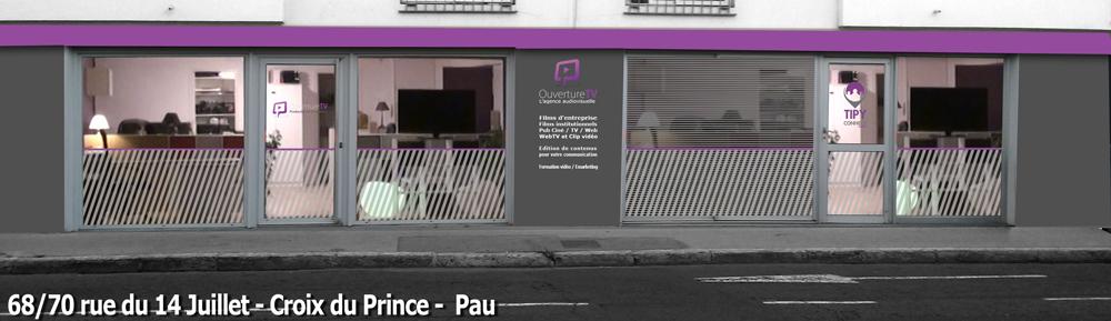 Agence OuvertureTV, communication audiovisuelle à Pau