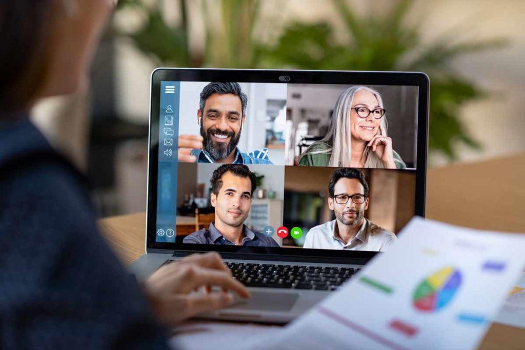 la vidéo conférence s'impose dans le monde de l'entreprise pour le télétravail